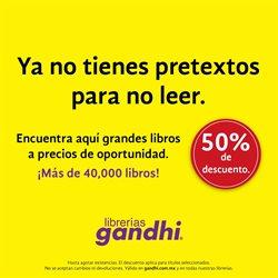 Ofertas de Librerías y Papelerías en el catálogo de Gandhi en Zapopan ( 2 días más )