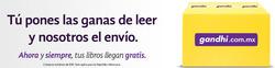 Ofertas de Gandhi  en el folleto de Ciudad de México