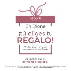 Ofertas de Dione en el catálogo de Dione ( 12 días más)