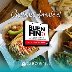 Ofertas de Cabo Grill  en el folleto de Ciudad de México