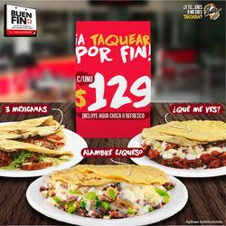 Ofertas de Tacos El Pata  en el folleto de La Paz
