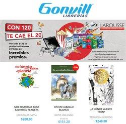 Ofertas de Librerías y Papelerías en el catálogo de Gonvill ( Vence hoy)
