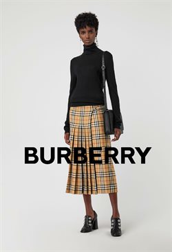 Ofertas de Burberry  en el folleto de Cancún