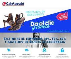 Ofertas de Calzzapato en el catálogo de Calzzapato ( Publicado hoy)