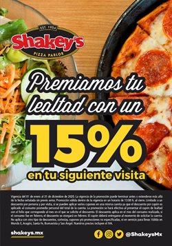 Catálogo Shakey's Pizza ( Caducado )