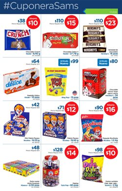Ofertas de Chocolate  en el folleto de Sam's Club en Iztapalapa