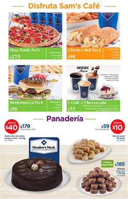 Ofertas de Pizza  en el folleto de Sam's Club en Veracruz