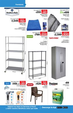 Ofertas de Closets  en el folleto de Sam's Club en Chihuahua
