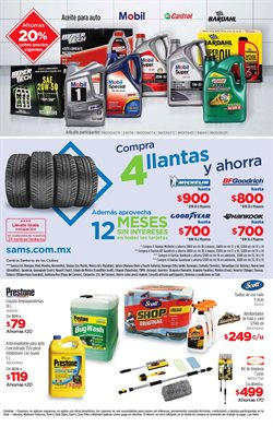 Ofertas de Anticongelante en Sam's Club