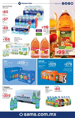Ofertas de Gatorade en Sam's Club