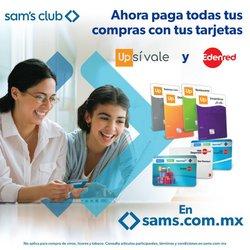 Ofertas de Hiper-Supermercados en el catálogo de Sam's Club en Fresnillo ( 8 días más )