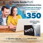 Catálogo Sam's Club en Culiacán Rosales ( 2 días más )