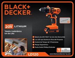 Ofertas de Ferreterías y Construcción en el catálogo de Black and Decker en Tijuana ( Más de un mes )
