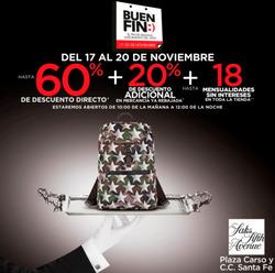 Ofertas de Saks Fifth Avenue  en el folleto de Álvaro Obregón (Ciudad de México)