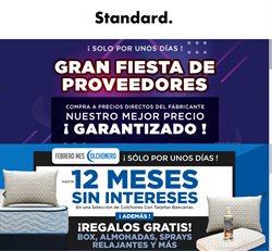 Ofertas de Hogar y Muebles en el catálogo de Mueblería Standard en Naucalpan (México) ( Vence mañana )