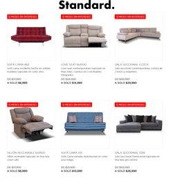 Ofertas de Hogar y Muebles en el catálogo de Mueblería Standard ( 3 días publicado )