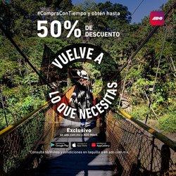 Ofertas de Viajes en el catálogo de Autobuses Ado Platinum en Heróica Puebla de Zaragoza ( Caduca hoy )