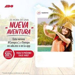 Ofertas de Viajes en el catálogo de Autobuses Ado Platinum ( Publicado ayer)
