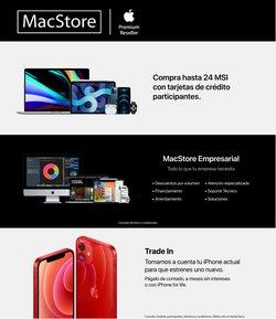 Catálogo MacStore en Guadalajara ( 8 días más )