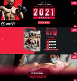 Ofertas de Deporte en el catálogo de Energy Fitness ( 12 días más)