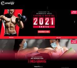 Ofertas de Deporte en el catálogo de Energy Fitness ( 5 días más)