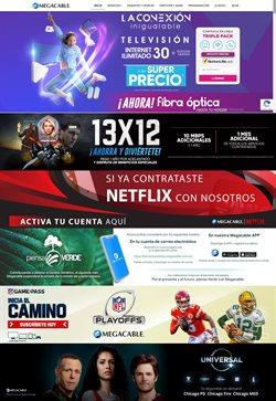 Catálogo Megacable en Ciudad de México ( Caducado )