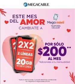 Catálogo Megacable en Ciudad de México ( 2 días más )