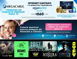 Ofertas de Electrónica y Tecnología en el catálogo de Megacable en Navojoa ( 3 días más )