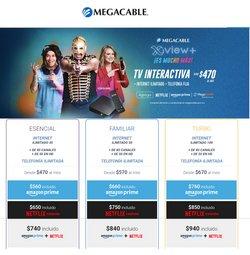 Ofertas de Electrónica y Tecnología en el catálogo de Megacable en Los Mochis ( 18 días más )