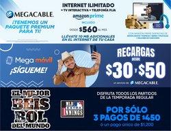 Ofertas de Megacable en el catálogo de Megacable ( 15 días más)