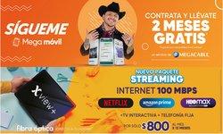 Ofertas de Megacable en el catálogo de Megacable ( 13 días más)