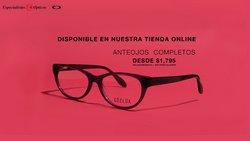 Ofertas de Ópticas en el catálogo de Especialistas Ópticos ( 7 días más)