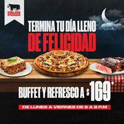 Ofertas de Restaurantes en el catálogo de Sirloin Stockade en Guadalupe (Nuevo León) ( 7 días más )