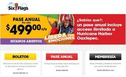 Ofertas de Ocio en el catálogo de Six Flags ( 19 días más)