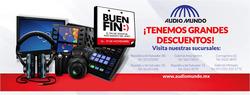 Ofertas de Audio Mundo  en el folleto de Cuauhtémoc (Ciudad de México)
