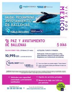Catálogo Viajes Intermex en Tlaquepaque ( Vence mañana )