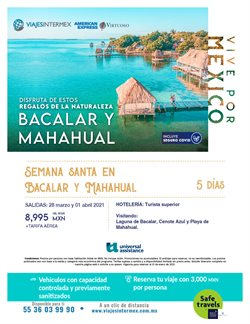 Ofertas de Viajes en el catálogo de Viajes Intermex en Ecatepec de Morelos ( 2 días publicado )