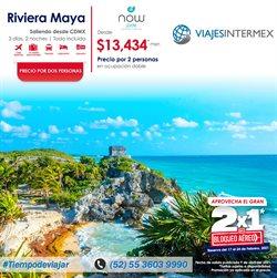 Ofertas de Viajes en el catálogo de Viajes Intermex en Miguel Hidalgo ( 3 días más )