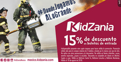 Ofertas de Kidzania  en el folleto de Cuajimalpa de Morelos