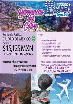 Catálogo Grupo Travel ( 2 días más )