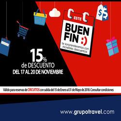 Ofertas de Grupo Travel  en el folleto de Ciudad de México