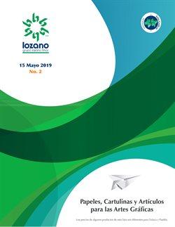 Ofertas de Librerías y Papelerías en el catálogo de Papelerías Lozano Hermanos en Santiago de Querétaro ( Más de un mes )