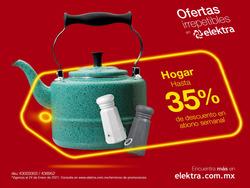 Cupón Elektra en Monterrey ( 2 días más )