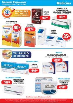 Ofertas de Citizen en el catálogo de Farmacias Guadalajara ( Publicado ayer)
