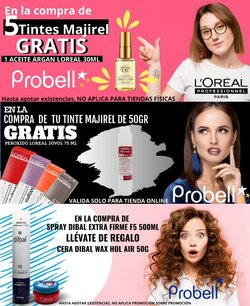 Ofertas de Perfumerías y Belleza en el catálogo de Probell en Benito Juárez (CDMX) ( 6 días más )