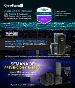 Ofertas de Electrónica y Tecnología en el catálogo de Cyber Puerta ( Publicado ayer)
