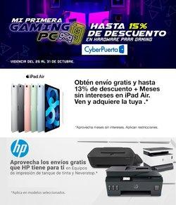 Ofertas de Electrónica y Tecnología en el catálogo de Cyber Puerta ( 4 días más)