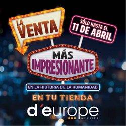 Catálogo D'Europe ( Vence mañana )