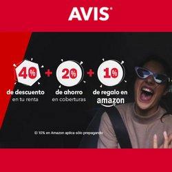 Ofertas de Avis en el catálogo de Avis ( Vencido)