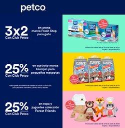 Ofertas de Ocio en el catálogo de Petco en Zapopan ( Vence mañana )